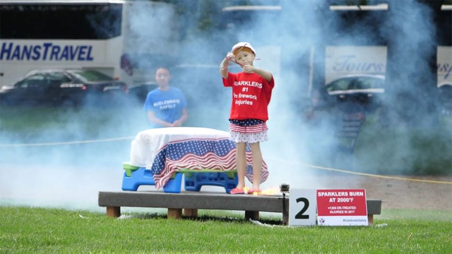 Information from the Consumer Product Safety Commission on fireworks safety.