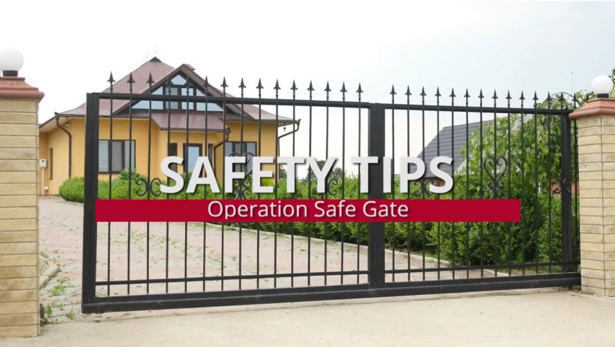 CPSC's Operation Safe Gate PSA